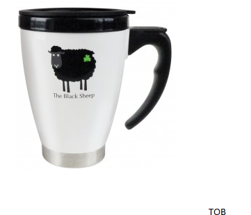 Black Sheep Travel Mug
