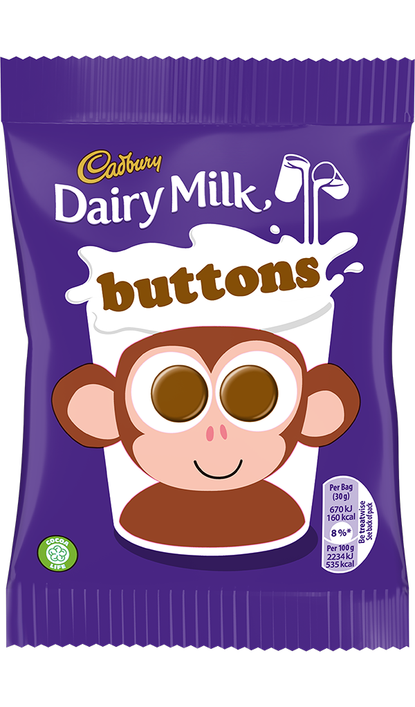 Cadbury Chocolate Buttons (orig. small pack)