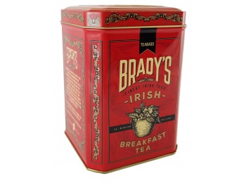 Brady's Irish Breakfast Tea Tin (230g)