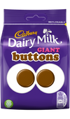 Cadbury Chocolate Buttons Giant Bag (119g)