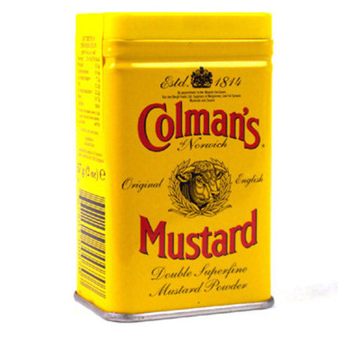 Colmans Mustard powder (Tin)
