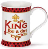 Dunoon King for a Day Fine Bone China Mug
