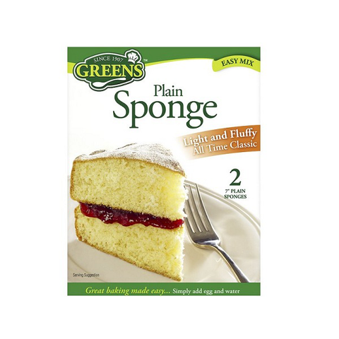 Greens Plain Sponge  Mix 280g