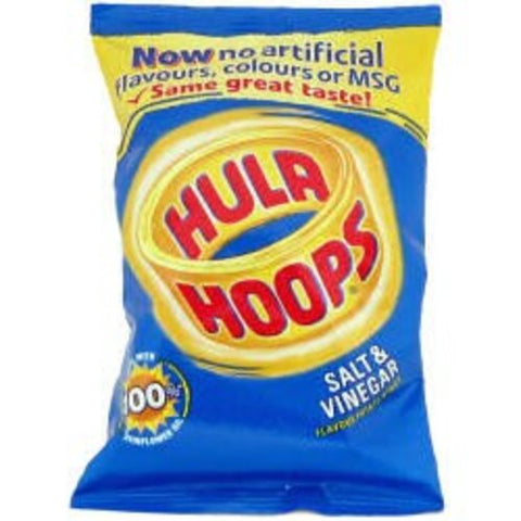 Crisps Hula Hoops Salt & Vinegar