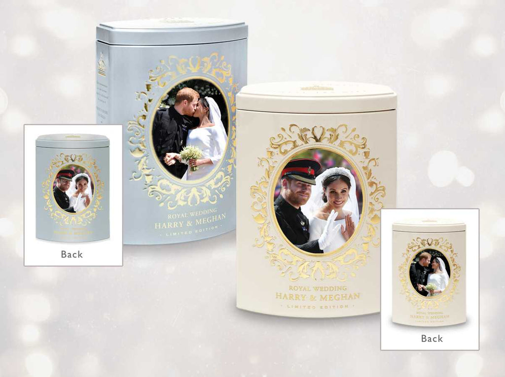 ROYAL WEDDING TEA CADDY
