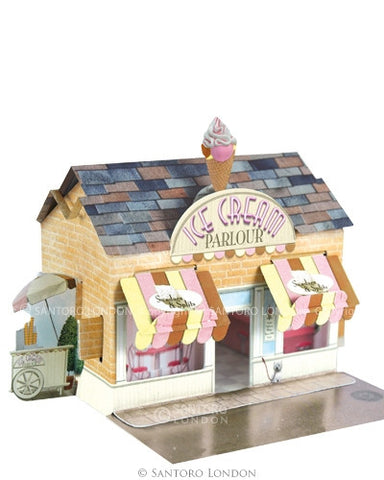 ICE CREAM PARLOUR 3D CARD