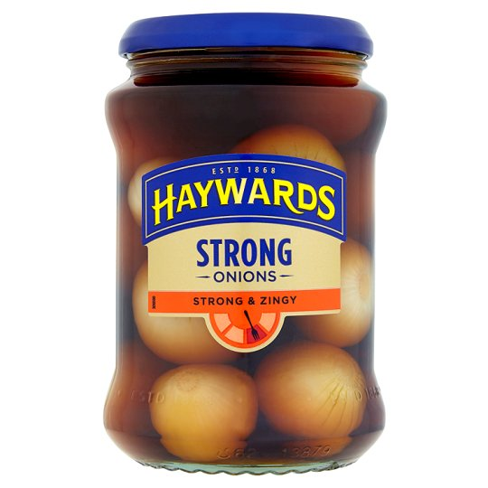 Haywards Strong and Zingy Onions 400g