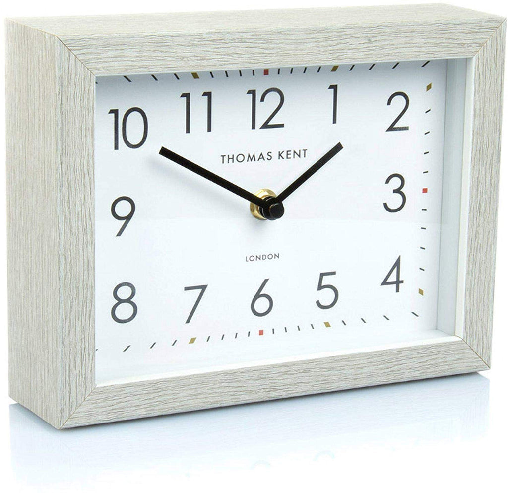 "Thomas Kent 7"" Smithfield Silver Birch Mantel Clock"