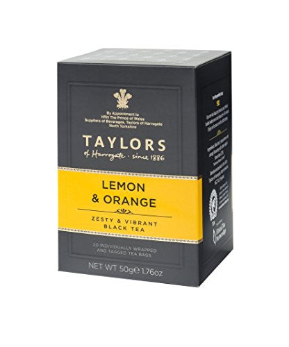 TAYLORS LEMON AND ORANGE TEA (20 BAGS)