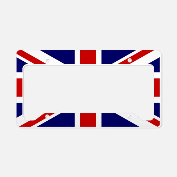 UNION JACK LICENSE PLATE HOLDER (SURROUND)