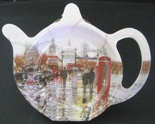 London scene Tea bag tidy