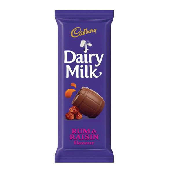 Cadburys Rum & Raisin 80g