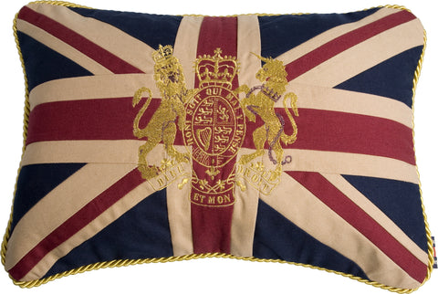 Union Jack couch cushion