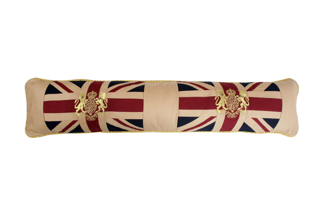 Union Jack with the Royal Crest Draught Excluder
