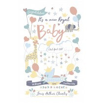 Royal Baby Tea Towel (Louis Arthur Charles son of William & Catherine)