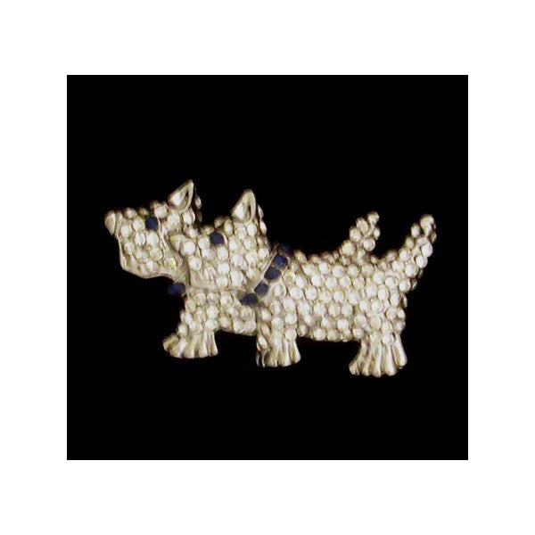 Scottie Dog Broach