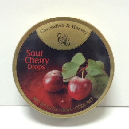 CAVENDISH AND HARVEY SOUR CHERRY DROPS