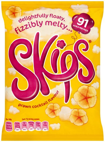 "Crisps Skips ""prawn cocktail"""