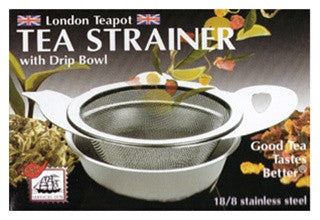 Tea Strainer with Drip Bowl