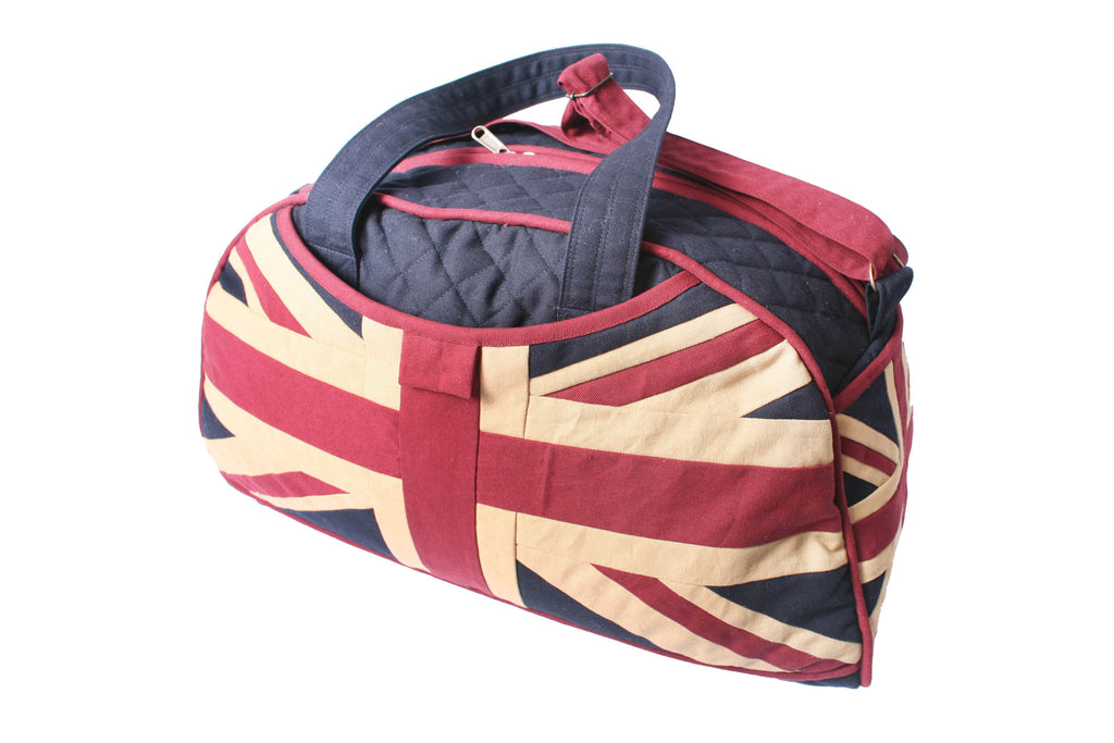 Overnight travel Bag - Vintage Union Jack