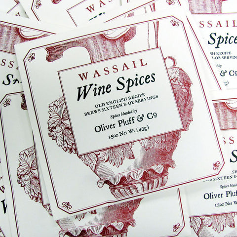 Wassail Wine Spices pack - (Makes 1 Gallon)
