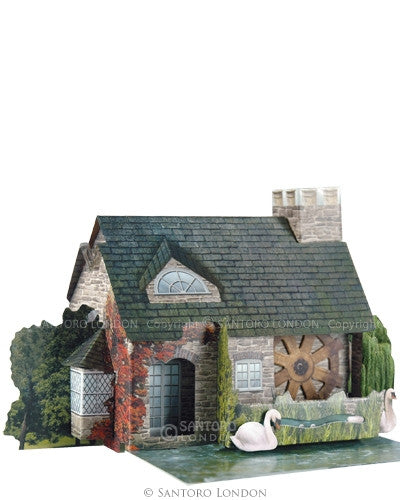 THE WATERMILL 3D CARD