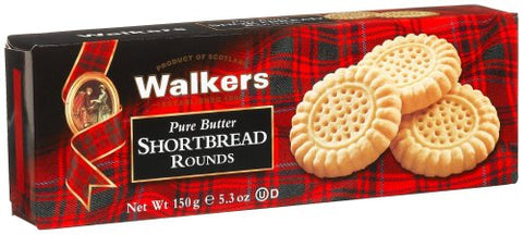 Walkers Shortbread Rounds 5.3oz