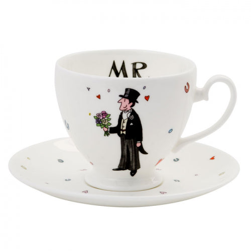 Mr Wedding Teacup