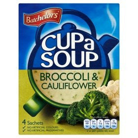 "Batchelors Cup a Soup ""Broccoli & Cauliflower"" (4)"