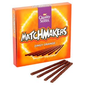 Nestle Matchmakers Zingy Orange 120g