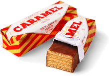 Tunnocks Caramel Wafer Single