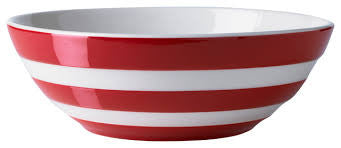 Cornish-ware Red Serving bowl 31cm