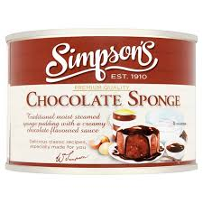 Simpson's Chocolate Sponge Pudding