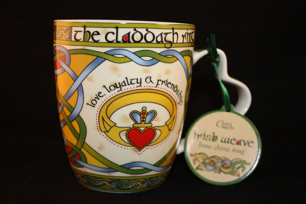 """The Claddagh"" Ring Mug."