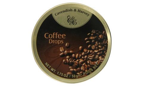 Cavendish & Harvey Coffee Drops 50g tin