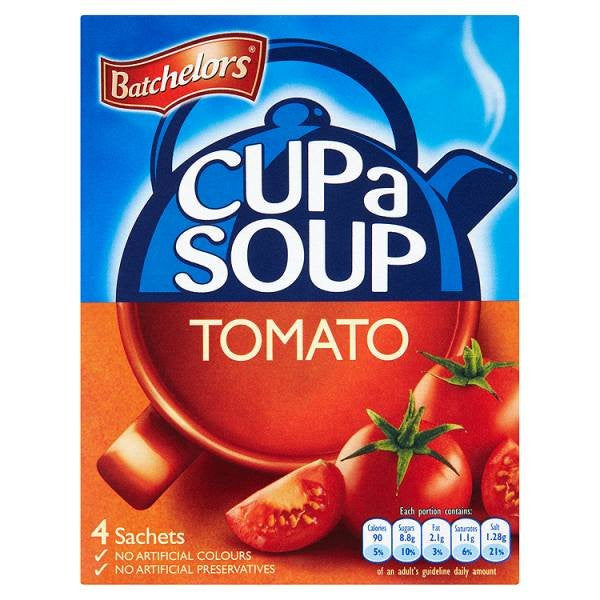 "Batchelors Cup a Soup ""Tomato"" (4)"