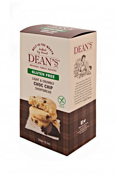 Dean's Gluten Free Chocolate Chip Shortbread
