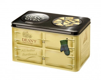 Dean's Luxury Butter Shortbread KEEP SAKE OVEN TIN 500g