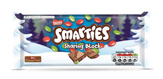 Smarties Sharing Block 100g