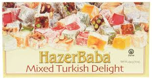 Hazerbada Mixed Turkish Delight Box 454G