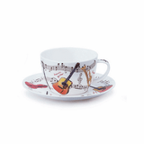 Dunoon Instrumental Cup and Saucer