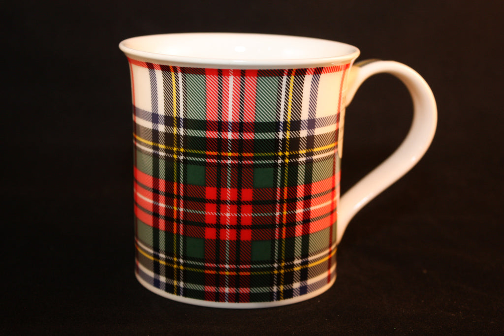 "Dunoon ""Dress Stewart Tartan"" Mug"