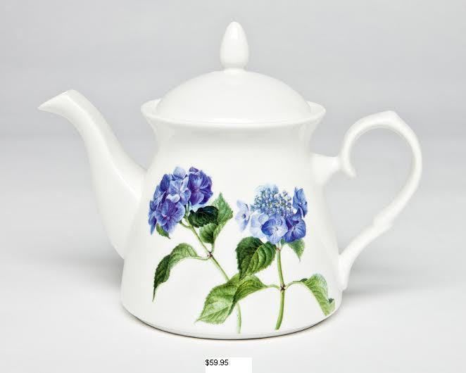 Hydrangea Teapot & Tea for One