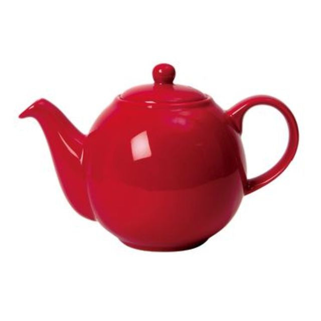 The London Pottery Co. Red-Globe Teapot (6cup)