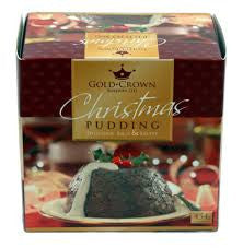 Gold Crown Christmas Pudding (113g)