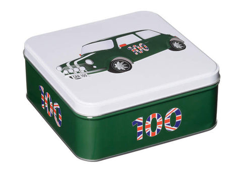 Tea Tin with English Biscuits