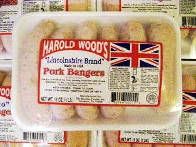 Harold Woods Lincolnshire Bangers