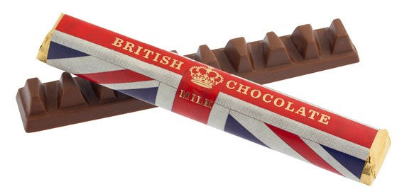 House of Dorchester Union Jack Chocolate Bar (85g)