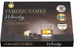 Famous Names Whiskey Collection Chocolates 185G