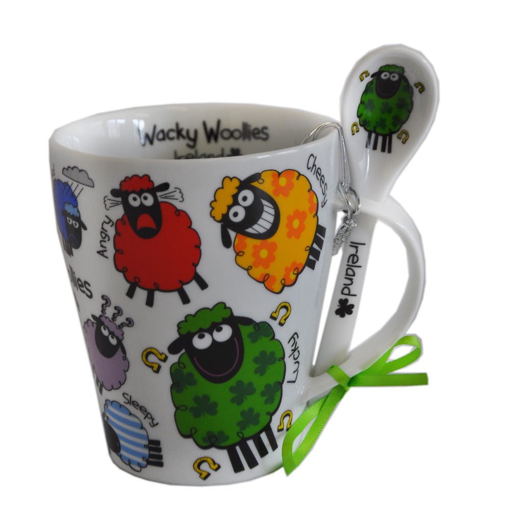 Wacky Woolies Cup and Spoon